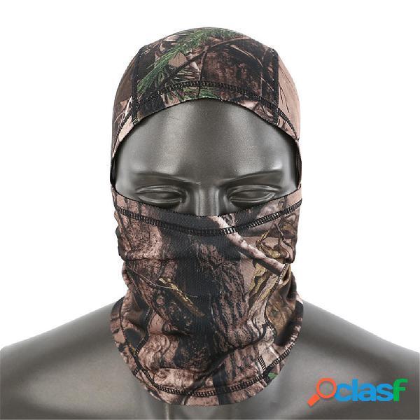 ESDY militar Impermeable al aire libre Cara completa Mascara