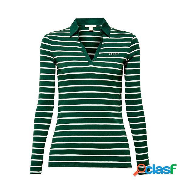 ESPRIT Textil Camiseta Bottle Green 4 089EE1K061-388