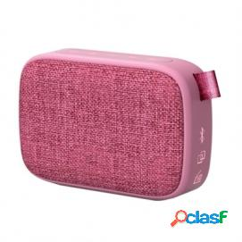 Energy Sistem Fabric Box 1+ Pocket Altavoz Bluetooth Rosa