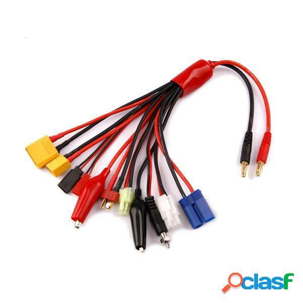 Equilibrio multifunción cable de carga XT60 xt90 t enchufe