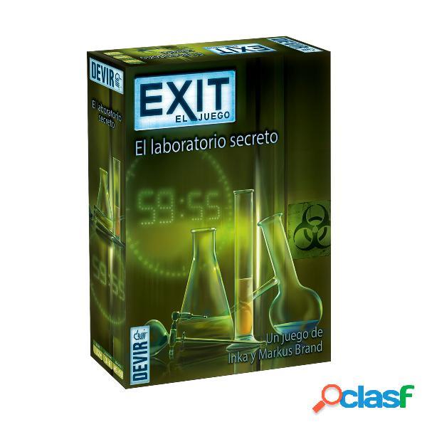 """Exit Juego de Scape Room """"El laboratorio secreto"""""""