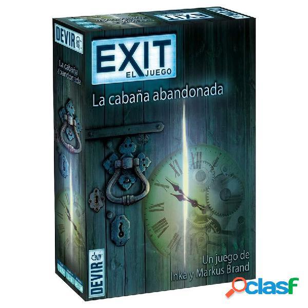"""Exit Juego de Scape Room """"La cabaña abandonada"""""""