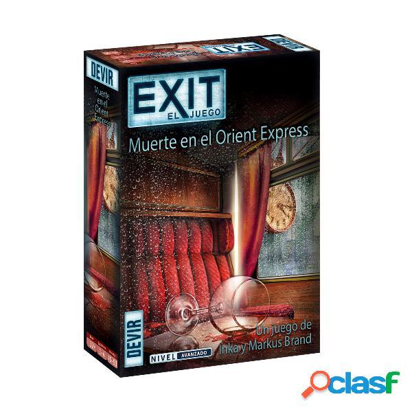 """Exit Juego de Scape Room """"Muerte en el Orient Express"""""""