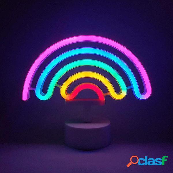 Figura de Neon Arcoiris