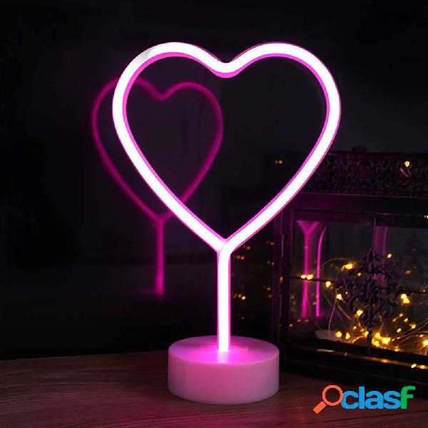 Figura de Neon Corazón