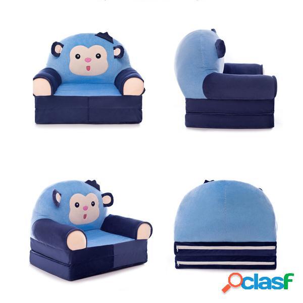 Funda de sofá de bebé plegable de dibujos animados Soft