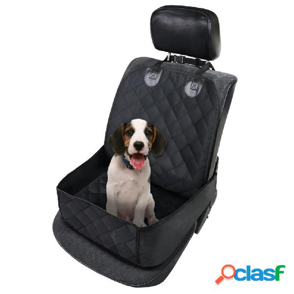 Fundas de asiento para mascotas Impermeable Coche Cubierta