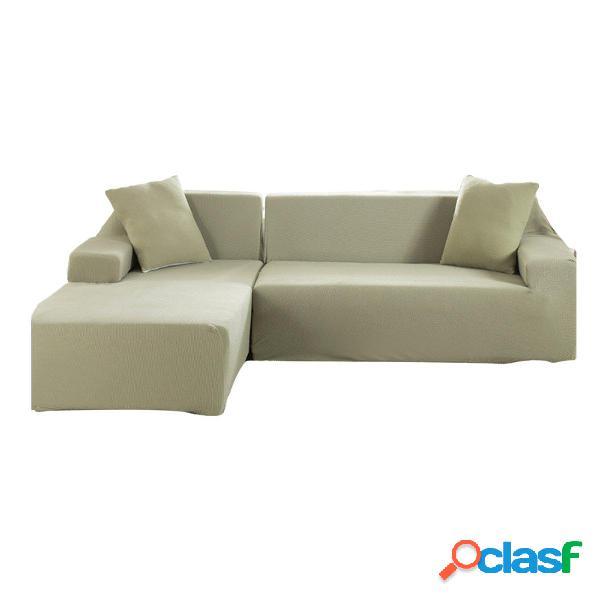Fundas de sofá de tela elástica de 3 asientos en forma de