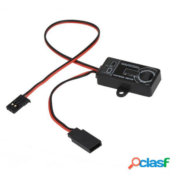 G.T.Power Electronic Switch 7A / 14A para aviones RC
