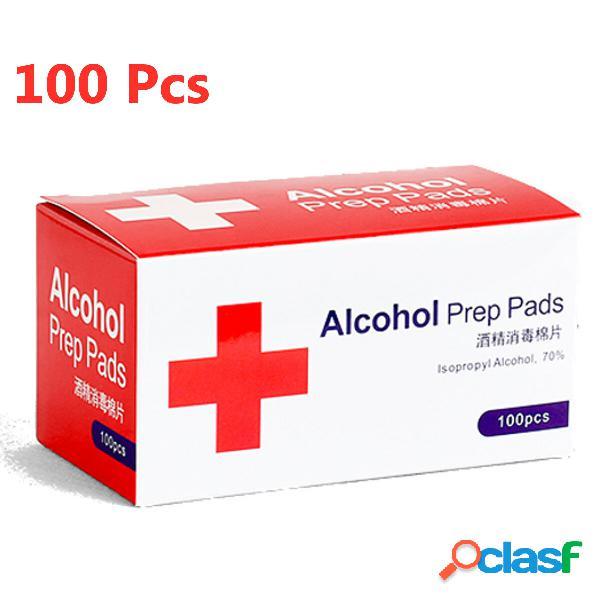 GEMITTO 100pcs Almohadillas de preparación de alcohol