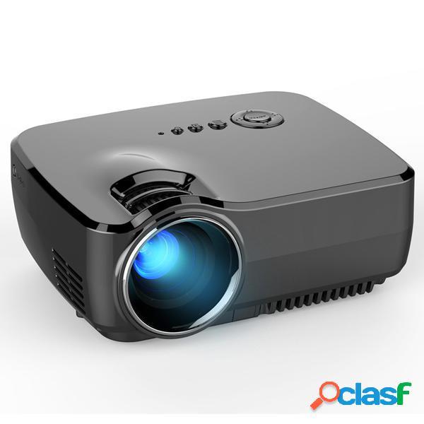 GP70 Proyector Portátil de LED LCD de 1080P Full HD 1200