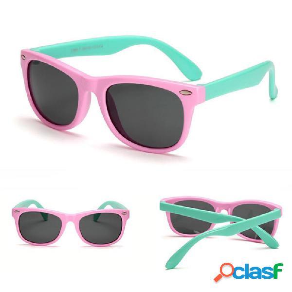Gafas de sol Unisex Kids Chic Polarized Children Baby Soft