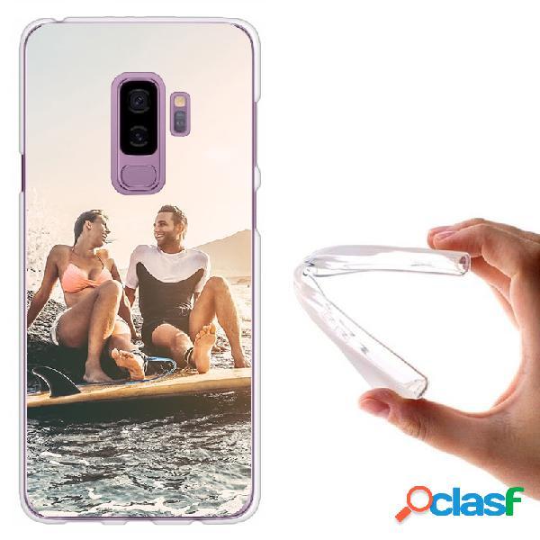 Galaxy S9 Plus - Funda personalizada blanda