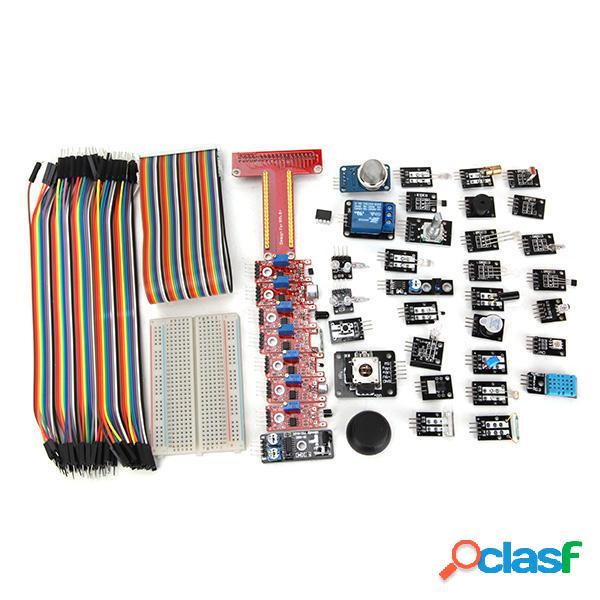 Geekcreit® 37 Kit de Módulos de Sensores con T Tipo GPIO
