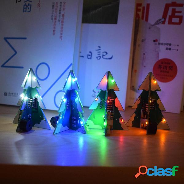 Geekcreit® 3D Mini SMD PCB Stereo Christmas Tree DIY Kit de