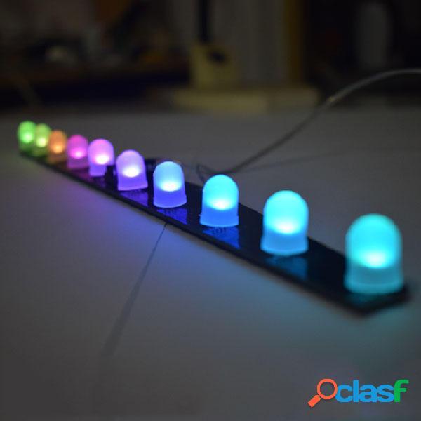 Geekcreit® DIY C51 RGB Colorful Crystal LED Aurora Colorful