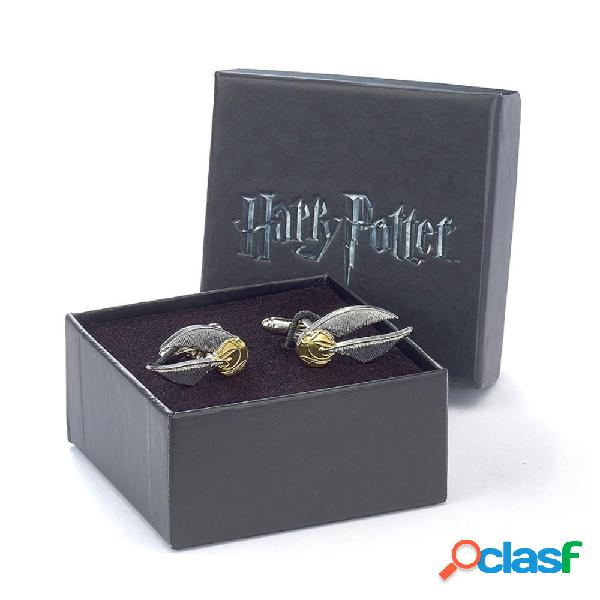 Gemelos Harry Potter Snitch Dorada