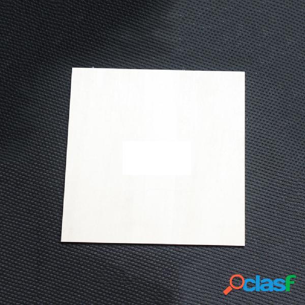 Hoja de madera de balsa capa 200 * 200 mm 1.5 / 2/3 mm para