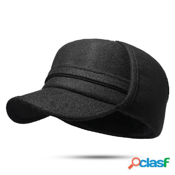 Hombres vendimia Trapeador de fieltro caliente Sombrero