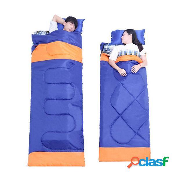 IPRee® 3 en 1 al aire libre cámping Dormir Bolsa