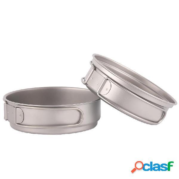 IPRee® 350ml Sartén de titanio para 1-2 personas al aire