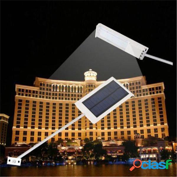 Impermeable al aire libre 24 LED Solar Power Street Lámpara