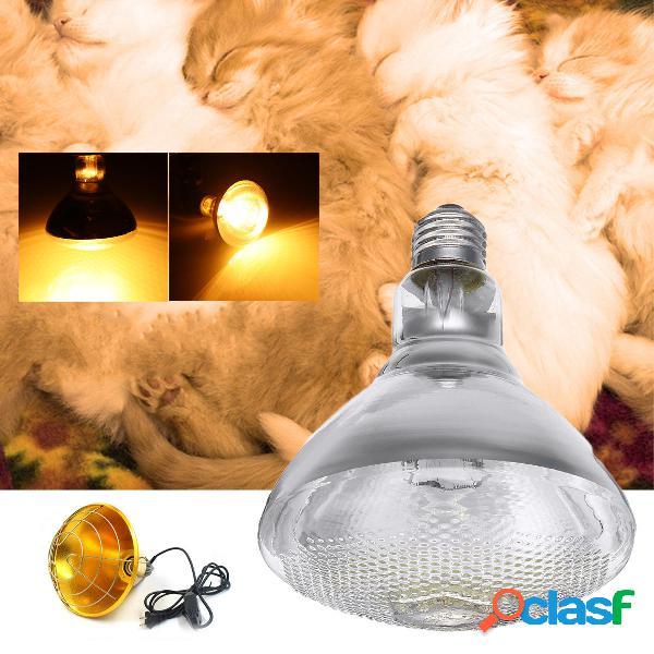 Incubadora de calor para aves de corral AC220V 250W Lámpara