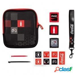 Indeca Kit Coca-Cola Kit 8 en 1 para Nintendo 3DS/2DS