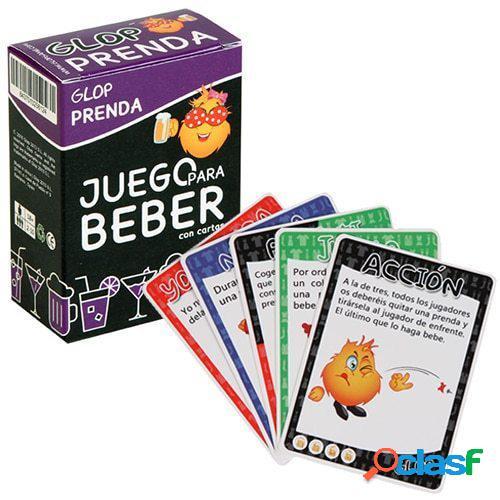 "Juego de cartas para beber ""Prenda"""