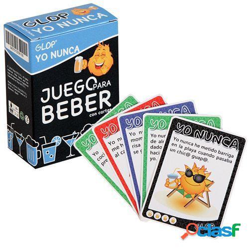 """Juego de cartas para beber """"Yo nunca"""""""