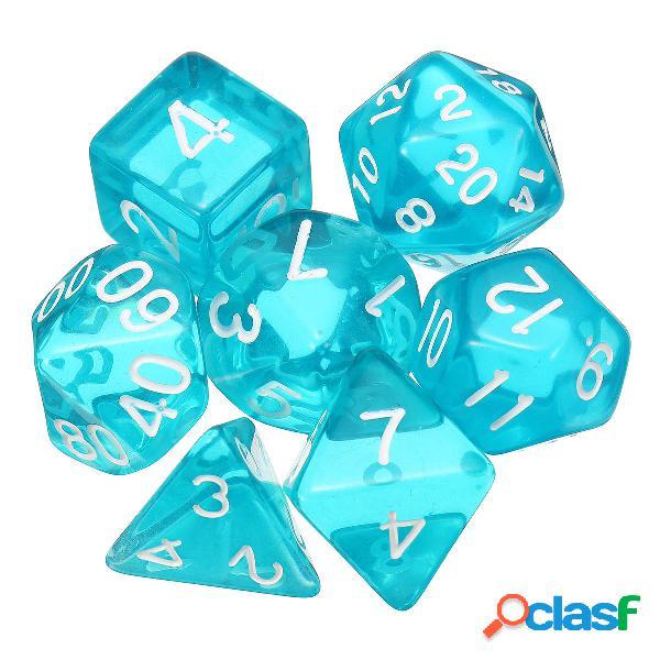Juego de dados polihédricos de 7 piezas dados Juego de RPG