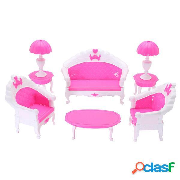 Juego de muebles para casa de muñecas Juego de muebles para