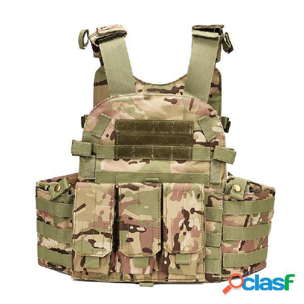 KALOAD 20 Cumumflage militar Chaleco táctico Molle Combat