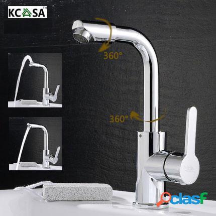 KCASA Cocina Cuarto de baño Grifos de lavabo Grifos