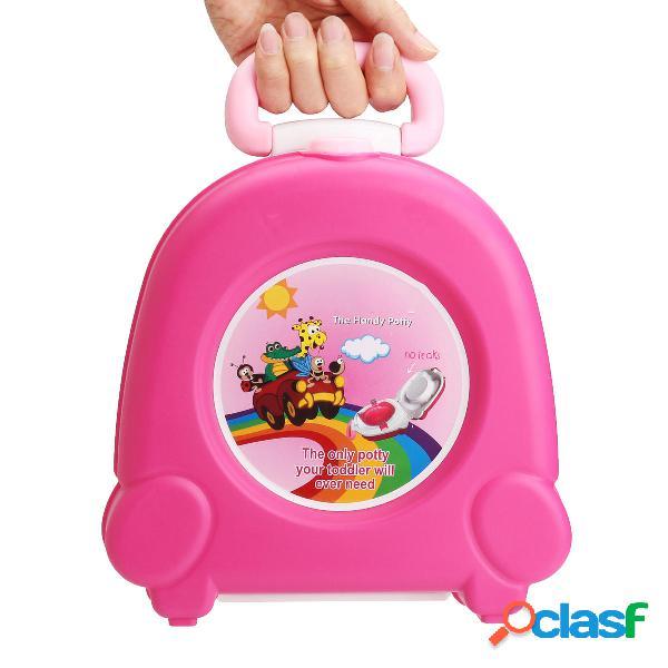 Kid Baby Toddler Toilet portátil de entrenamiento de viaje
