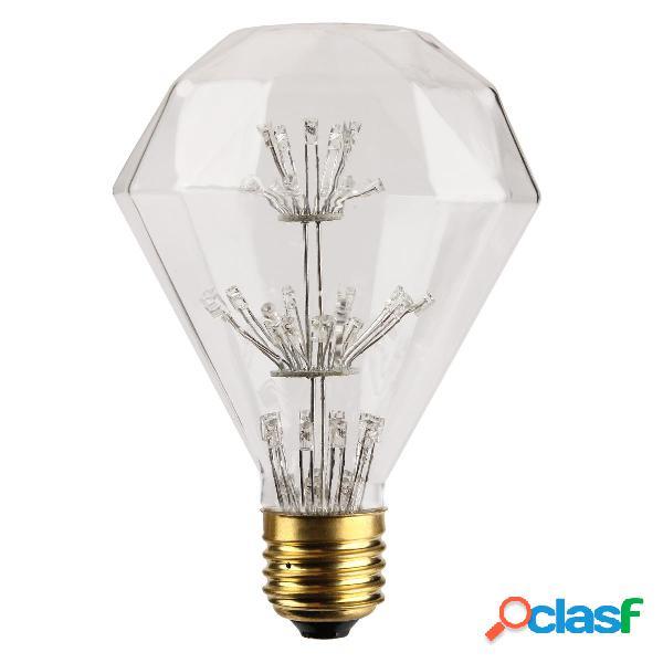 Kingso AC85-265V E27 3W RGB Gypsophila Edison luz LED