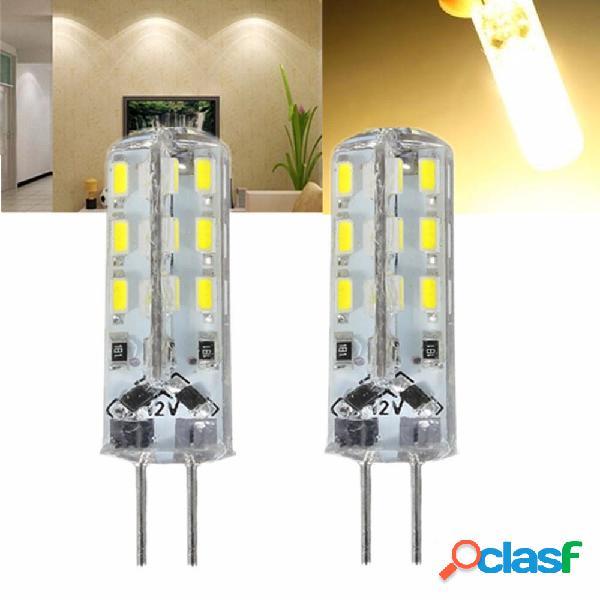 Kingso G4 1.5W No regulable Blanco cálido SMD3014 luz LED