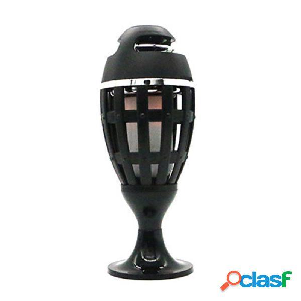 LED Flame Atmosphere Speaker Lámpara Altavoz bluetooth