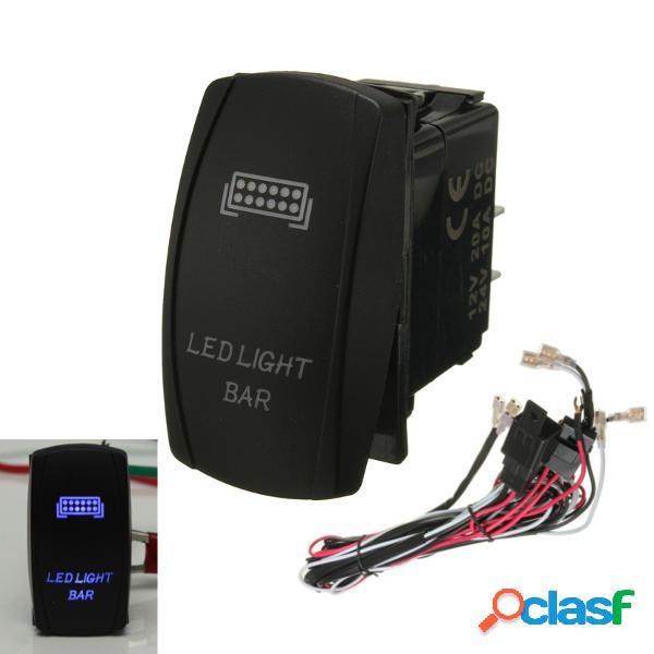 LED Interruptor de la luz oscilante de encendido / apagado