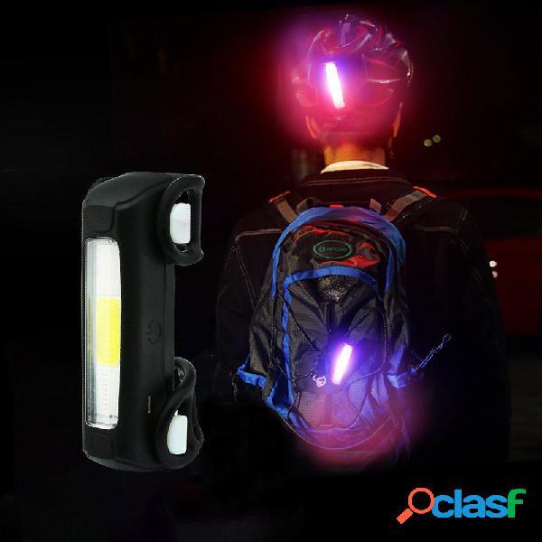 LED Luz de bicicleta USB Bicicleta recargable Ciclismo