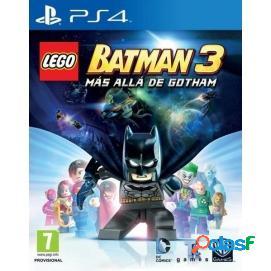 LEGO Batman 3: Más Allá de Gotham + Nave PS4