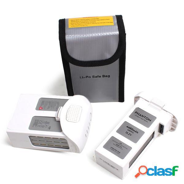 Lipo batería portátil de la bolsa de seguridad a prueba de