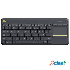 Logitech K400+ Wireless Touch Keyboard Negro (PORTUGAL)