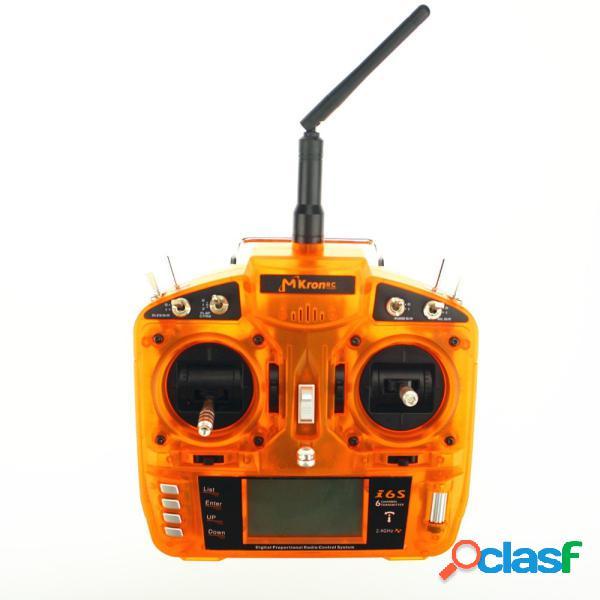 MKron i6S 2.4G 6CH DSM2 Transmisor compatible con