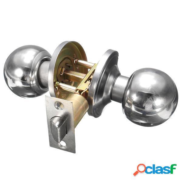 Mango cilindro de la cerradura puerta del baño de acero