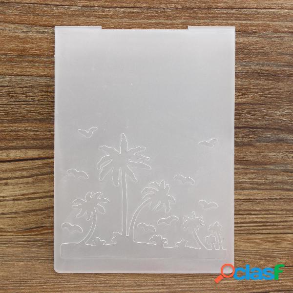 Maple Hoja Álbum de fotos de plástico Coco Tree Libro de