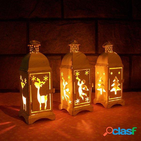 Marruecos europeo de cristal de hierro forjado candelabro de