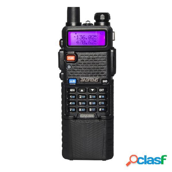 Mejorado BaoFeng UV-5R Walkie Talkie VH/UHF Transmisor de