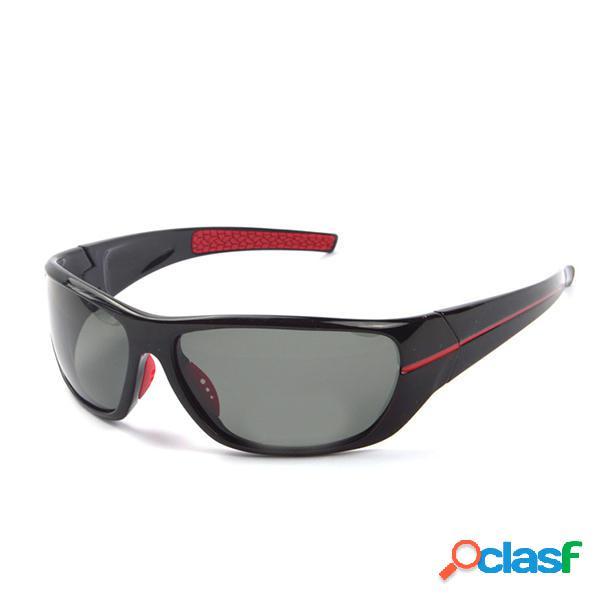 Mens Night Vision Polarized gafas de deporte al aire libre