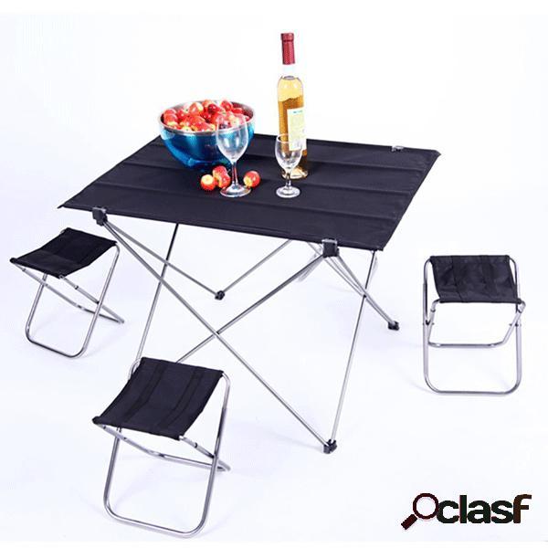 Mesa plegable plegable de la comida campestre de la tabla de
